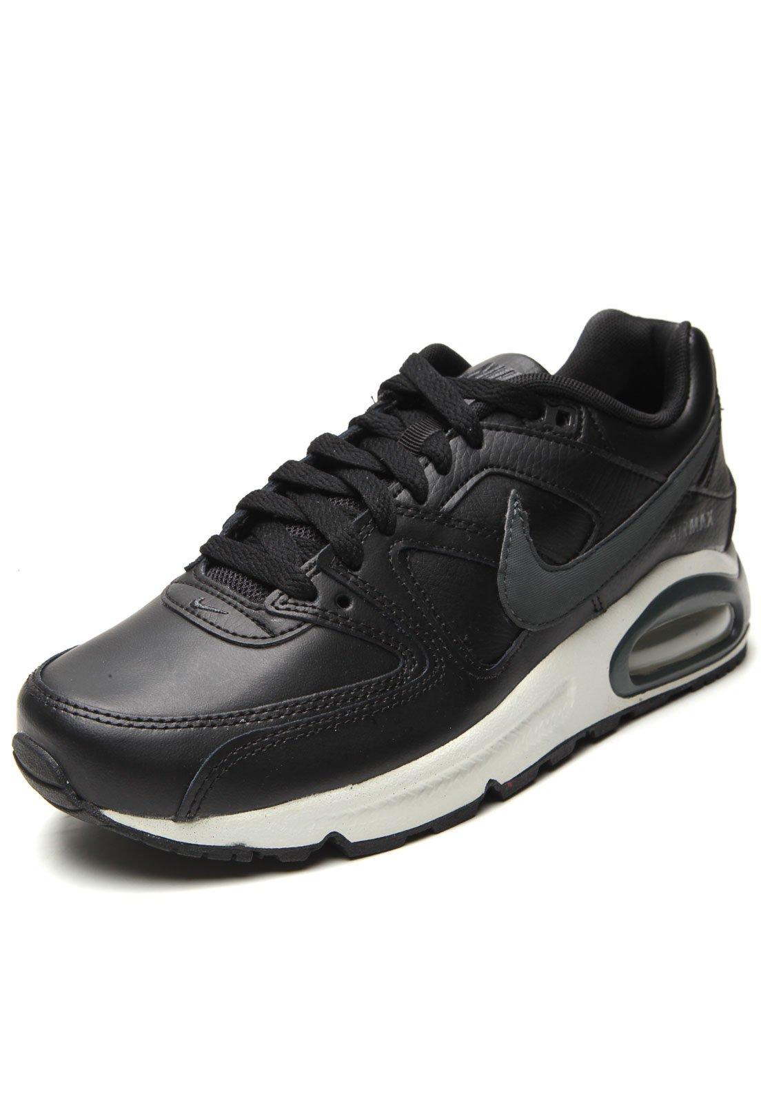 Tênis Nike Sportswear Air Max Command Leather Preto