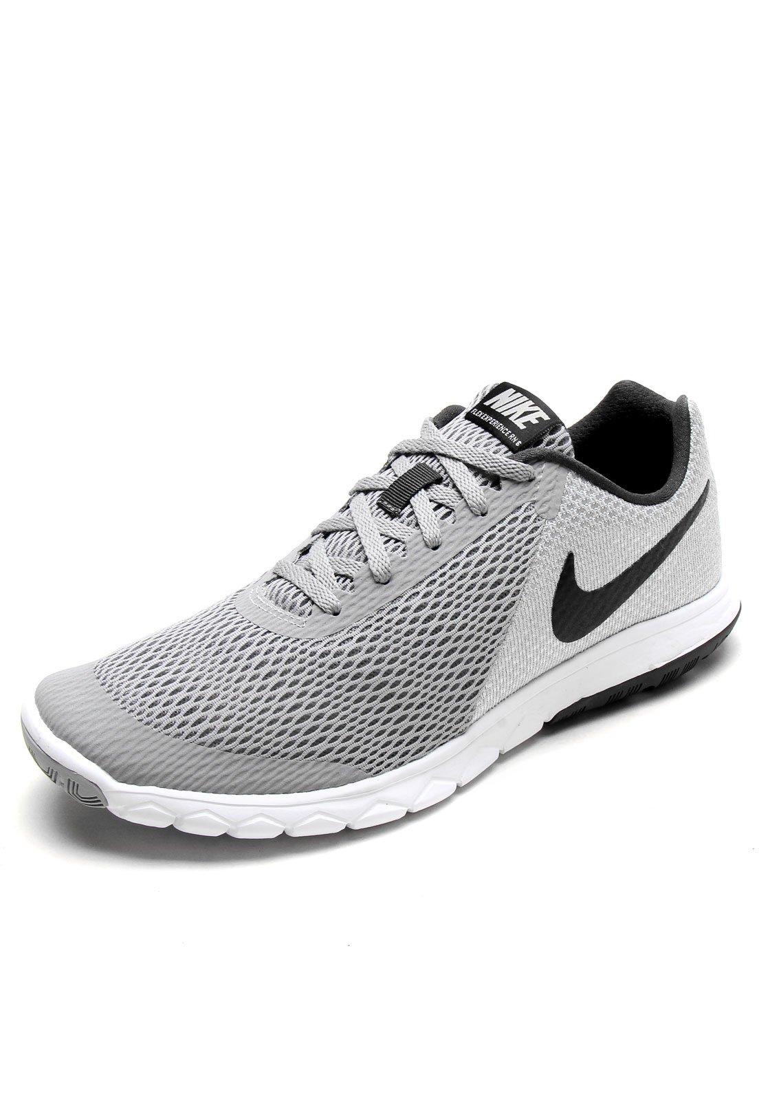 bostezando sentido común matar  Tênis Nike Flex Experience RN 6 Cinza/Preto - Compre Agora   Dafiti Brasil