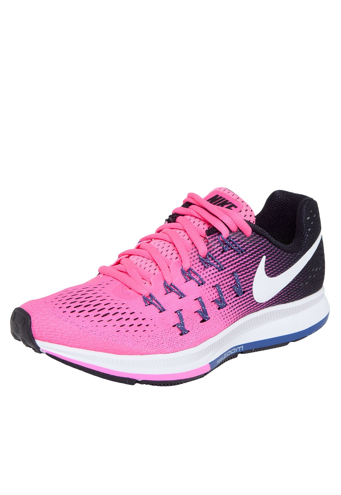 Hola Colaborar con variable  Tênis Nike Sportswear Wmns Air Zoom Pegasus 33 Rosa/Preto - Compre Agora |  Dafiti Brasil