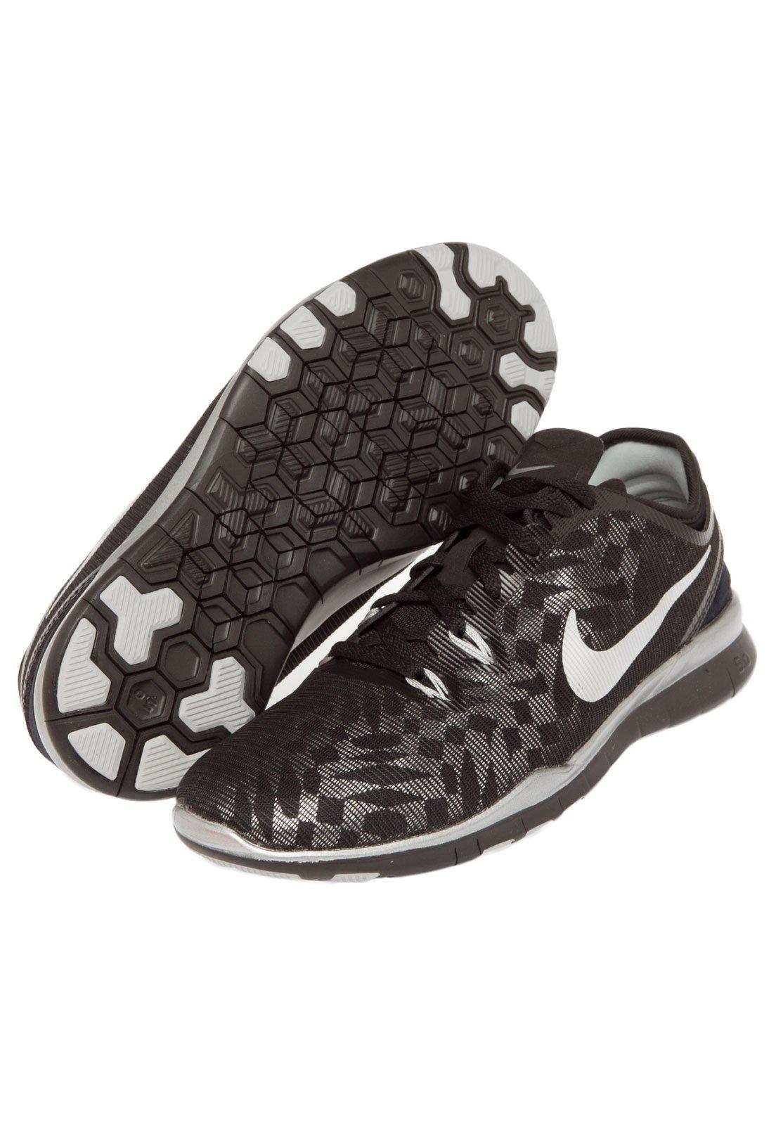 Comerciante itinerante Hombre Tranquilizar  Tênis Nike WMNS Free 5.0 TR FIT 5 MTLC Preto - Compre Agora | Kanui Brasil