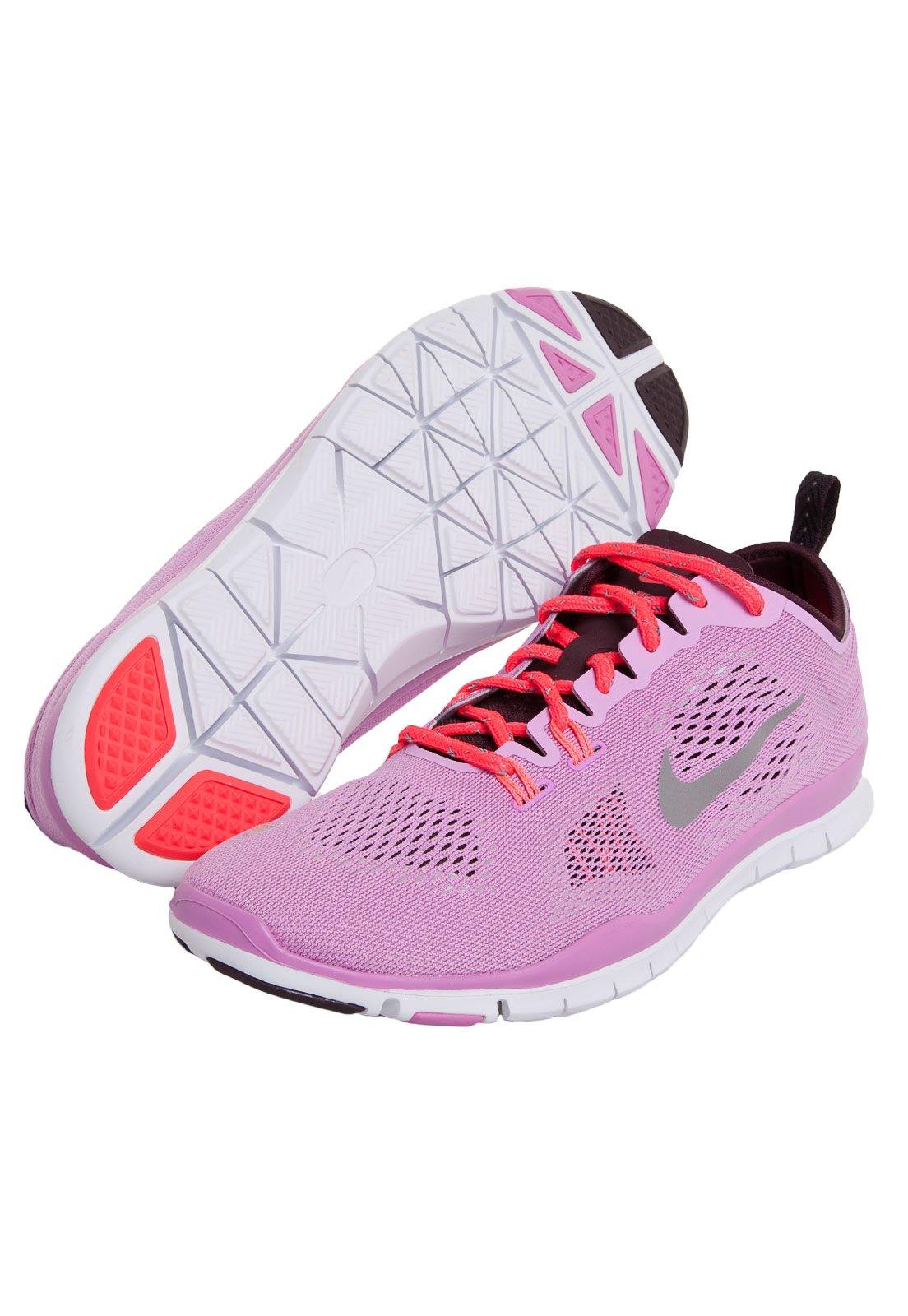 capacidad Comprimir póngase en fila  Tênis Nike WMNS Free 5.0 TR Fit 4 Rosa - Compre Agora | Dafiti Brasil