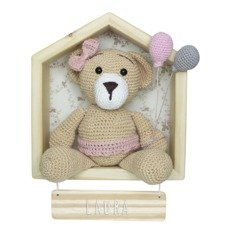 Porta maternidade no Elo7 | Lullaby.croche (E8EF7E) | 232x232