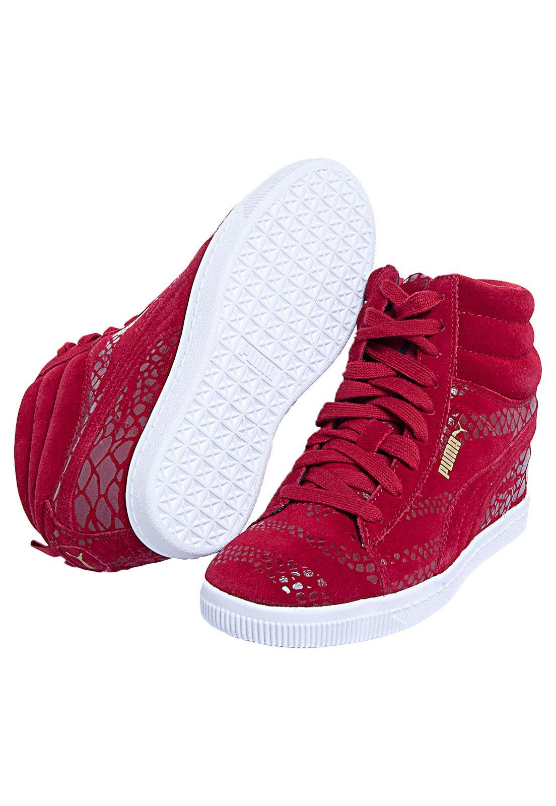 Sneaker Puma Pc Wedge Wr Wn'S Jester Vermelho
