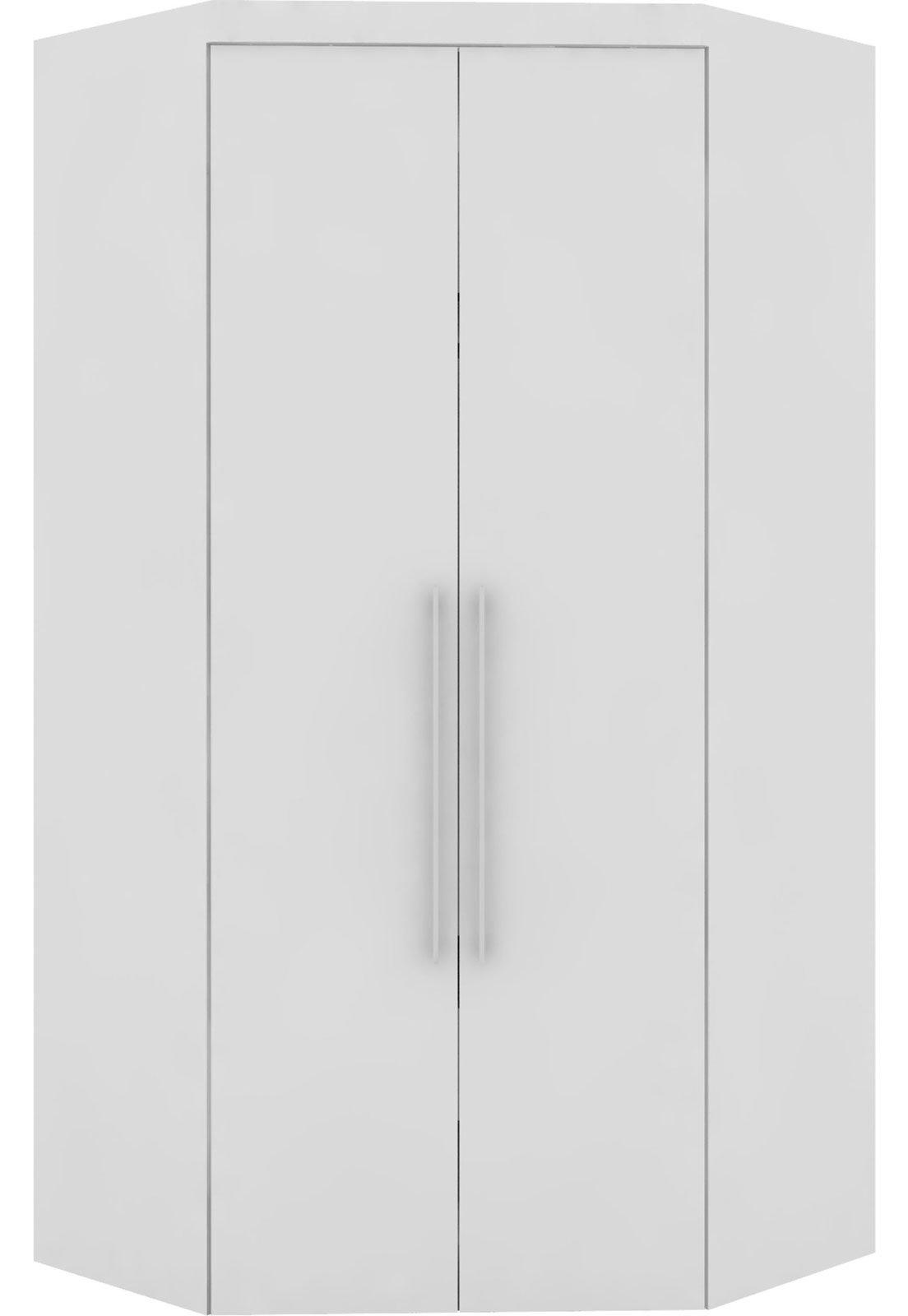 Guarda Roupa Canto Closet Virtual 2 Portas S Espelho Com Gavetas Branco Robel Compre Agora Dafiti Brasil
