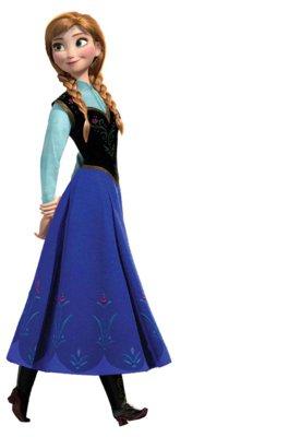Adesivo Frozen De Parede Anna Colorido Roommates Compre Agora