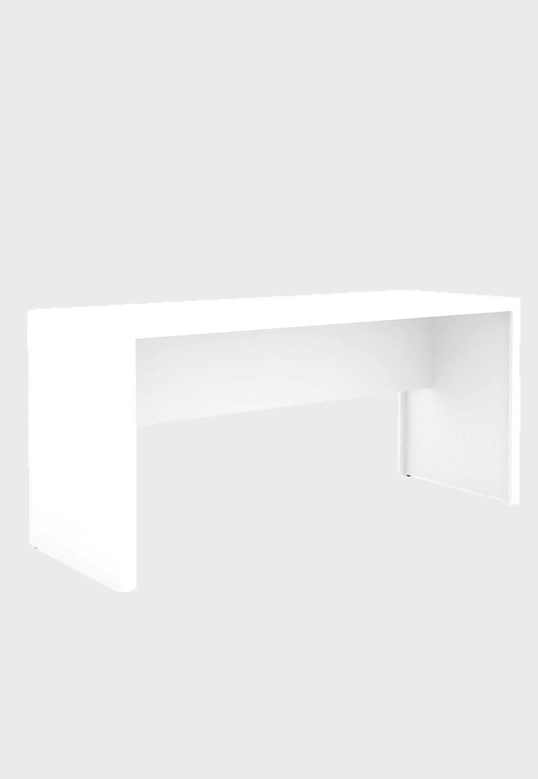 Mesa Para Escritorio Me 4109 Branca Tecno Mobili Compre Agora Dafiti Brasil