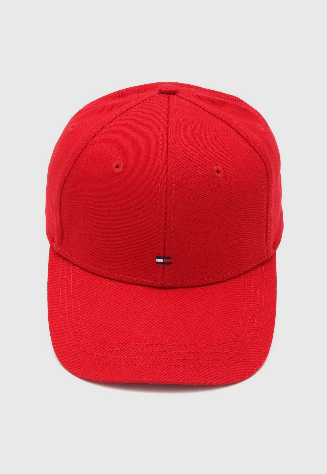 new collection online retailer sale usa online Boné Tommy Hilfiger Logo Vermelho