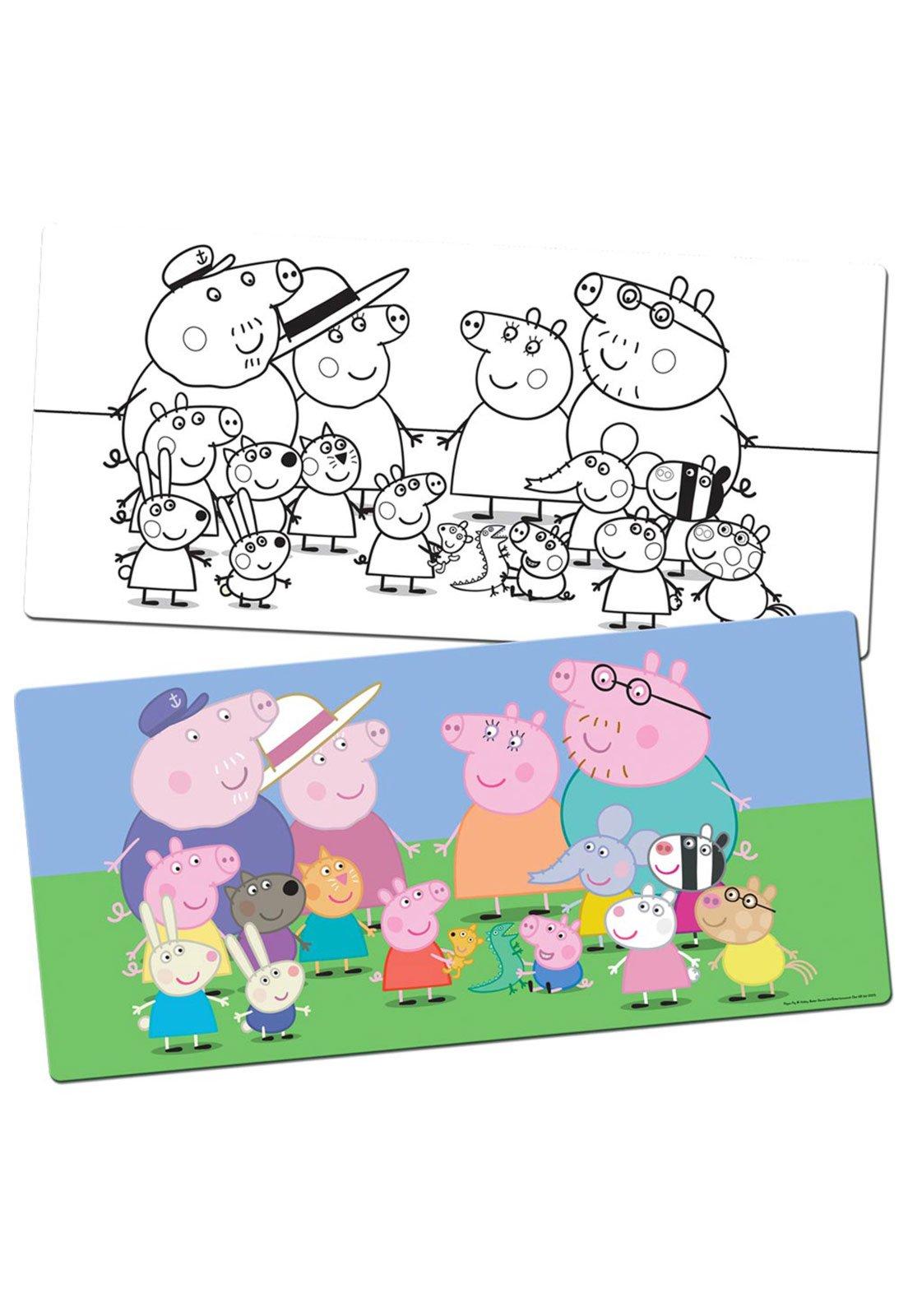 Quebra Cabeca Para Pintar Peppa Pig 60 Pecas Toyster Compre