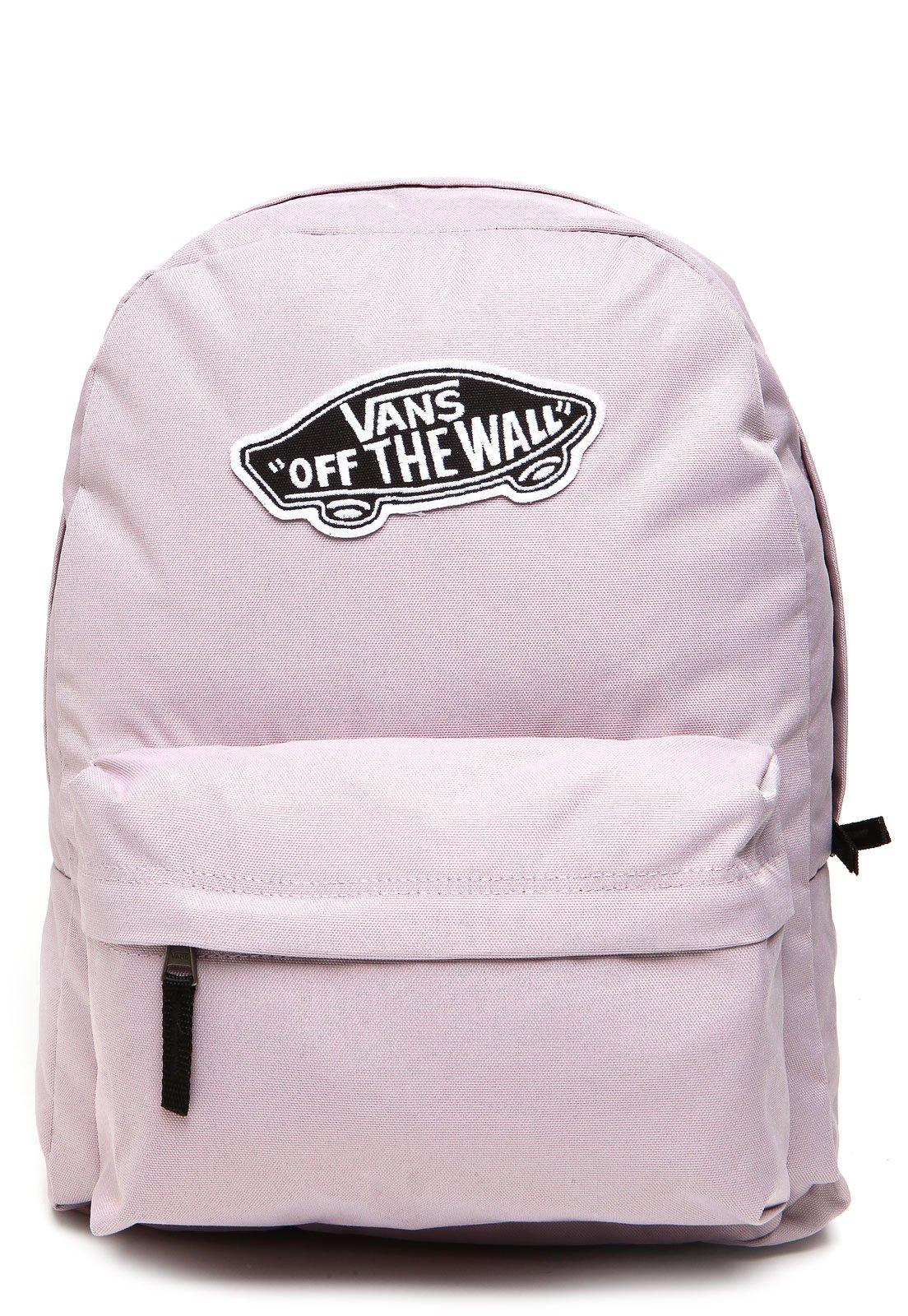 mochila vans rosa pastel