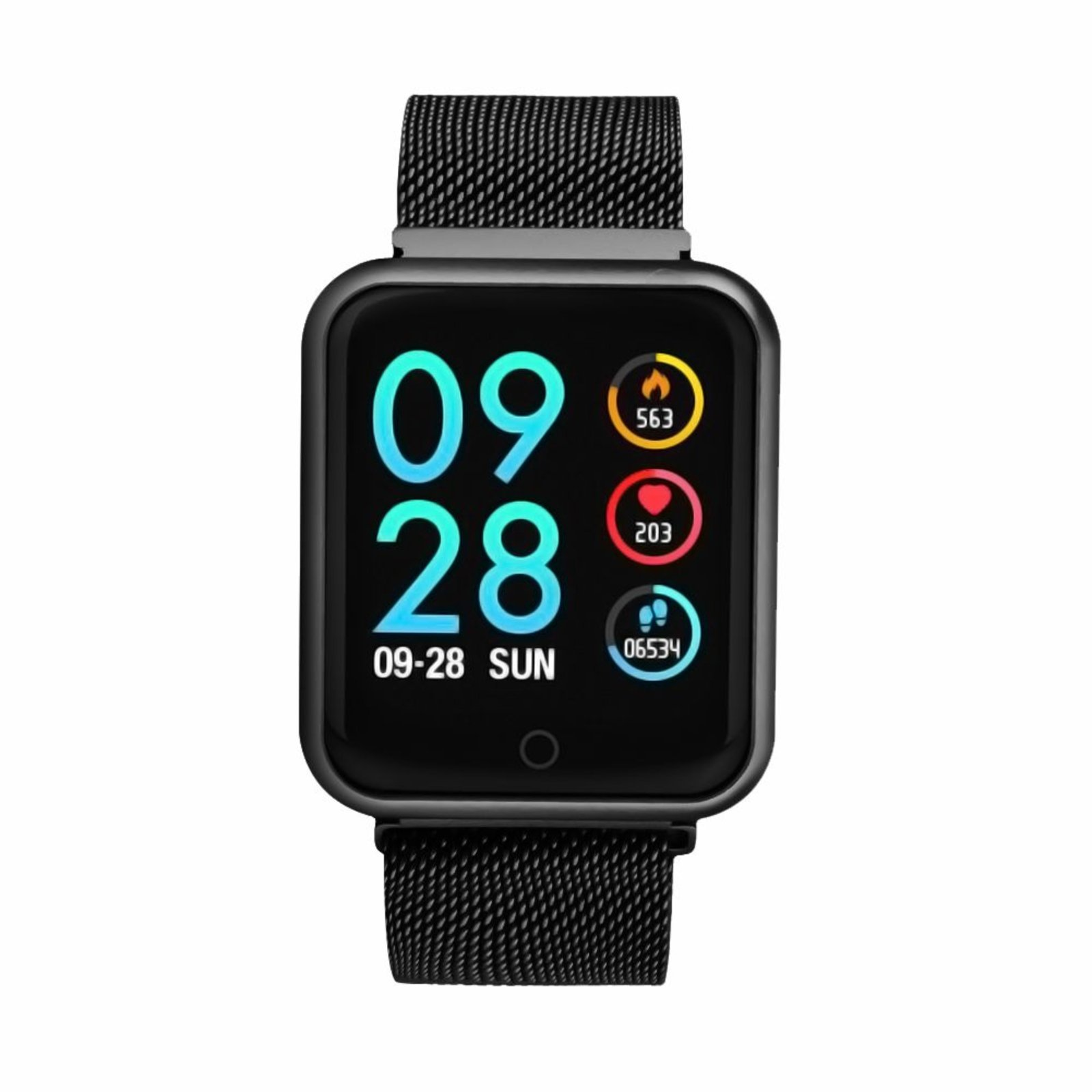 Rélogio Xtrad Smartwach Inteligente Pedômetro Premium - iOS e Android - Preto - Compre Agora