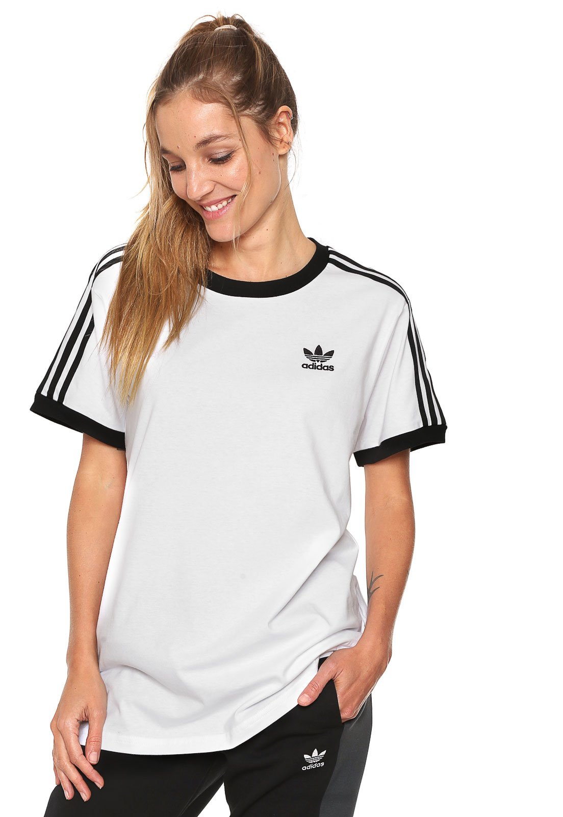 Colgar No puedo ir al trabajo  camiseta adidas california barata closeout d5a21 26c3a