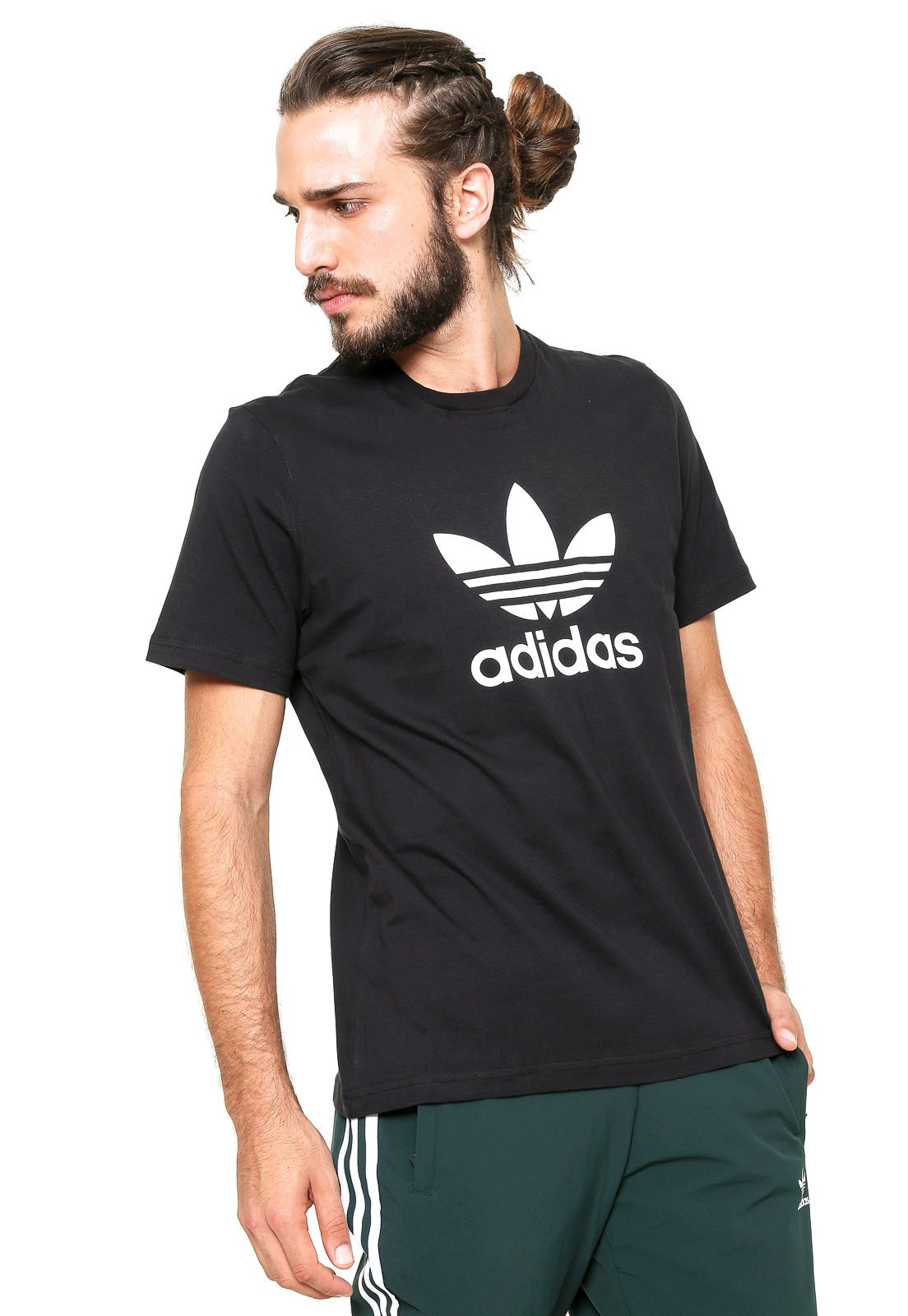 cores múltiplas nova alta venda online camiseta trefoil