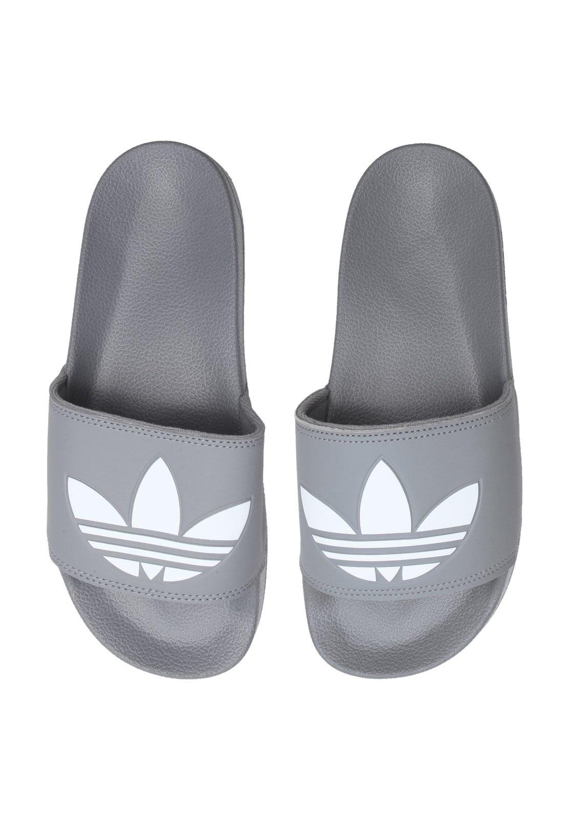 página subasta Escepticismo  Chinelo Slide adidas Originals Adilette Lite Cinza - Compre Agora | Dafiti  Brasil