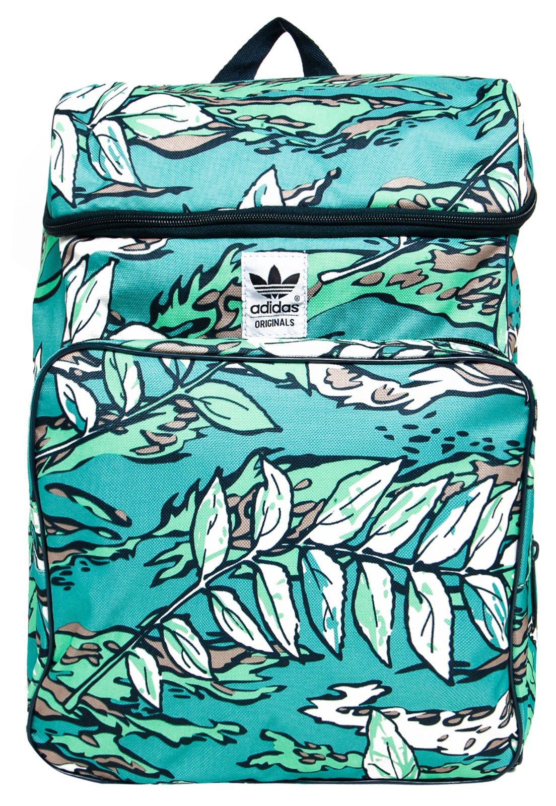 Mochila Adidas Originals Classic Camo Verde Compre Agora Dafiti Brasil