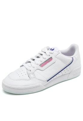 Tênis Couro adidas Originals Continental 80 W Branco