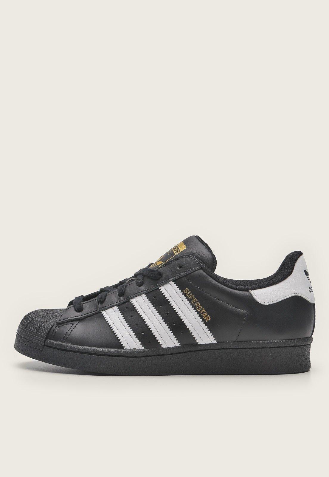 adidas superstar preto e branco