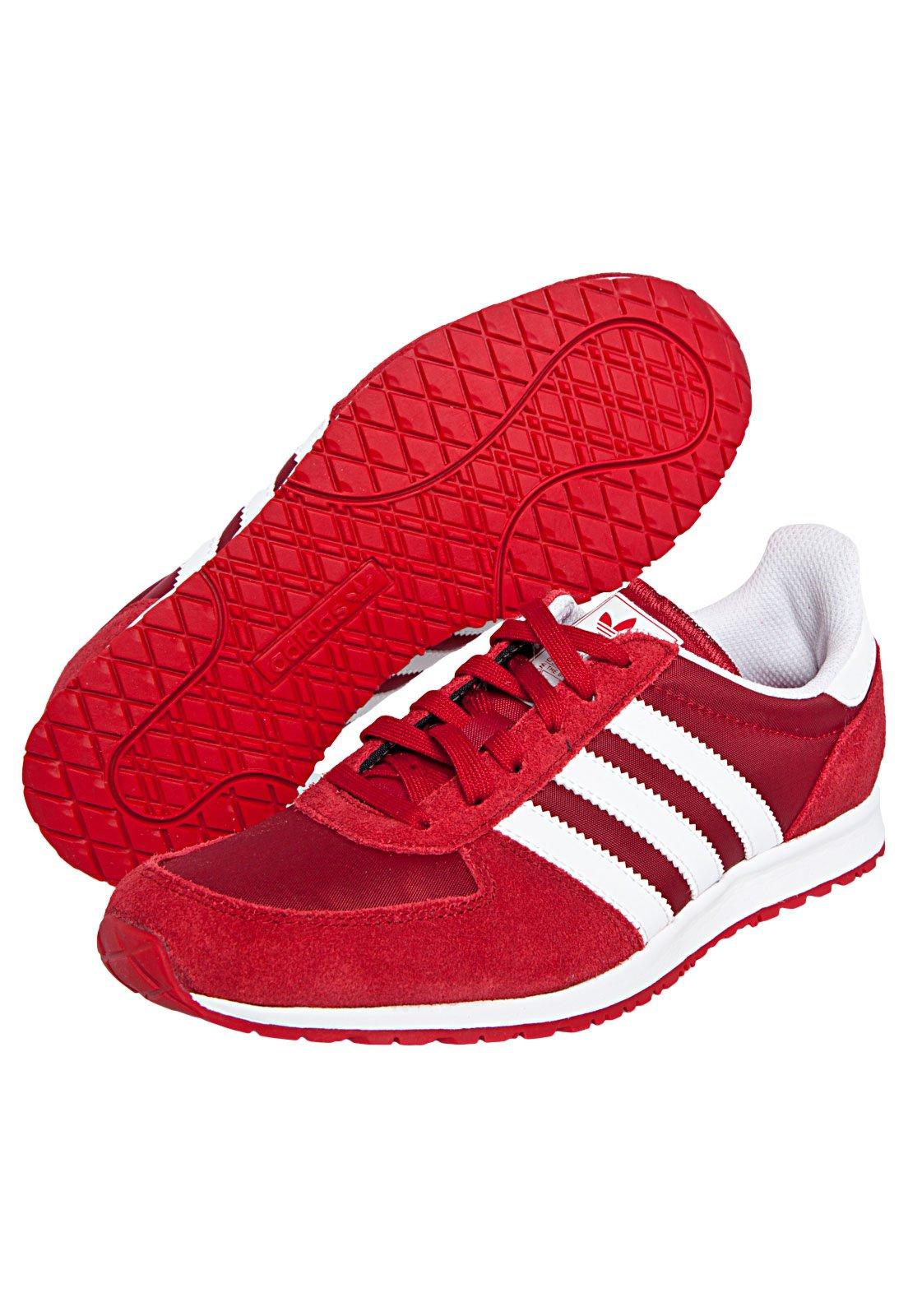 Portero Inmunidad material  Tênis adidas Originals Adistar Racer W Vermelho - Compre Agora   Dafiti  Brasil
