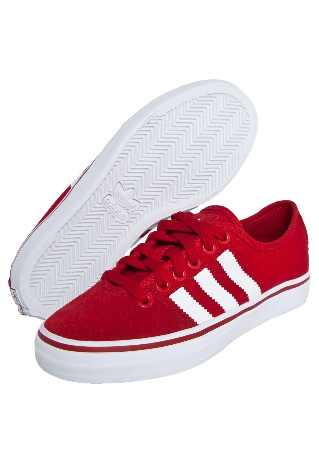 Respeto a ti mismo Subrayar Ventilación  Tênis adidas Originals Adria Lo W Vermelho - Compre Agora   Dafiti Brasil