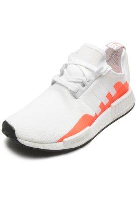 Tênis adidas Originals Nmd R1 Branco/Laranja
