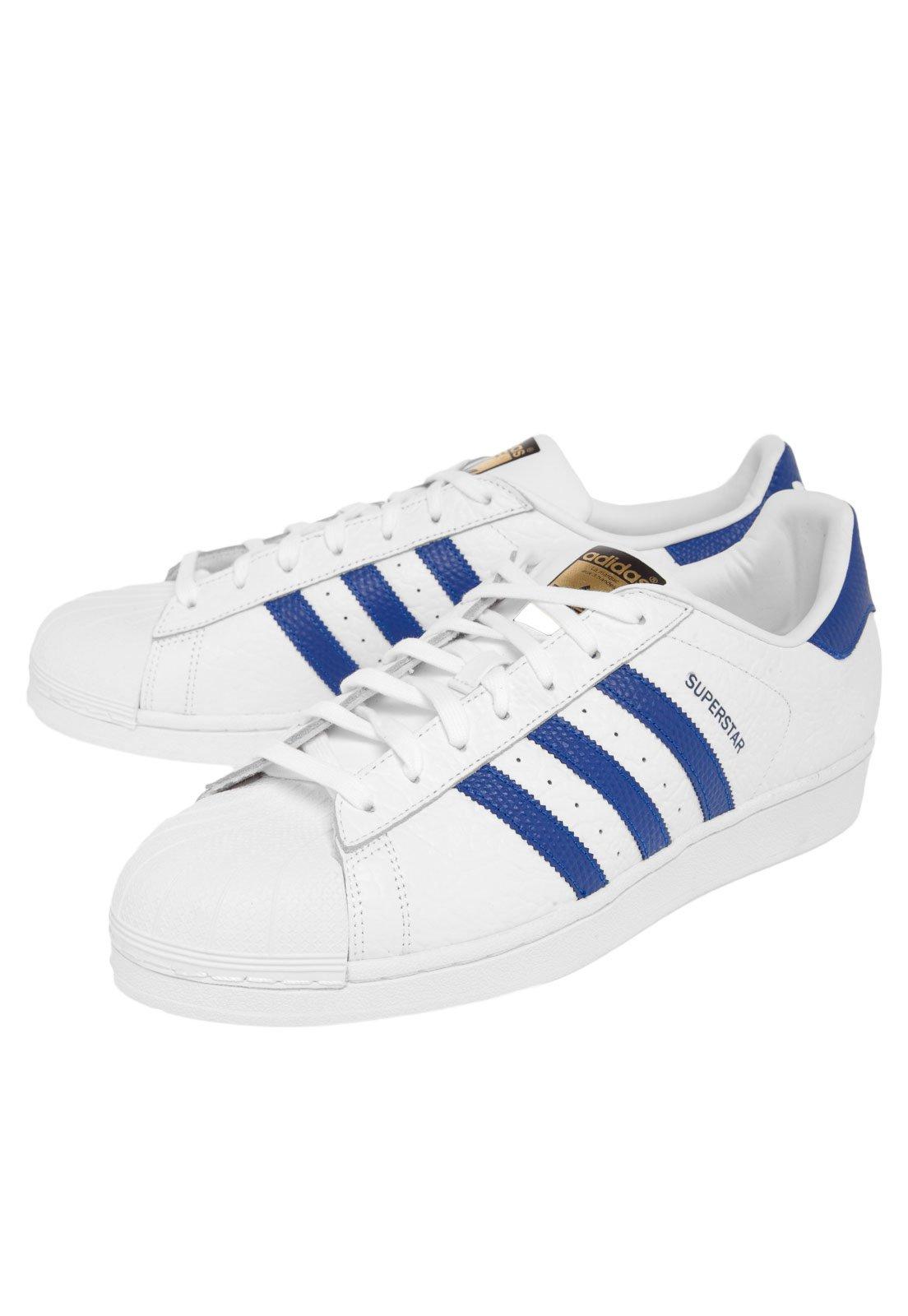 envio GRATIS a todo el mundo envío complementario zapatos clasicos Tênis adidas Originals Superstar Branco - Compre Agora   Dafiti Brasil