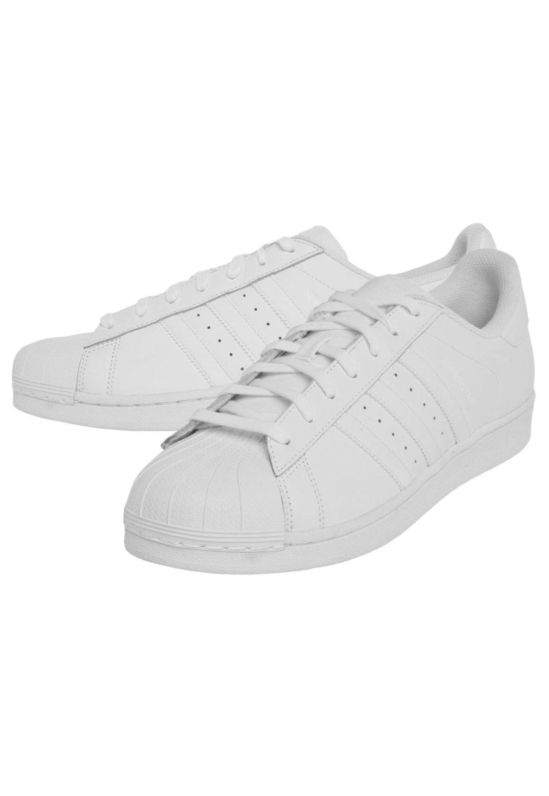 Tênis adidas Originals Superstar Foundation Branco