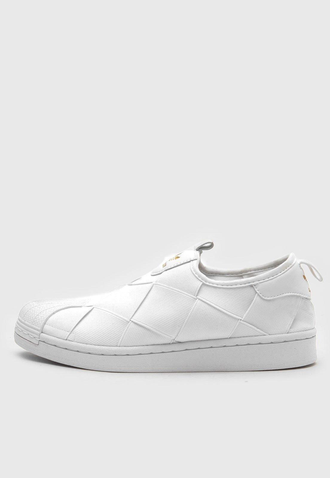 Tênis adidas Originals Superstar Slip On W Branco - Marca adidas Originals