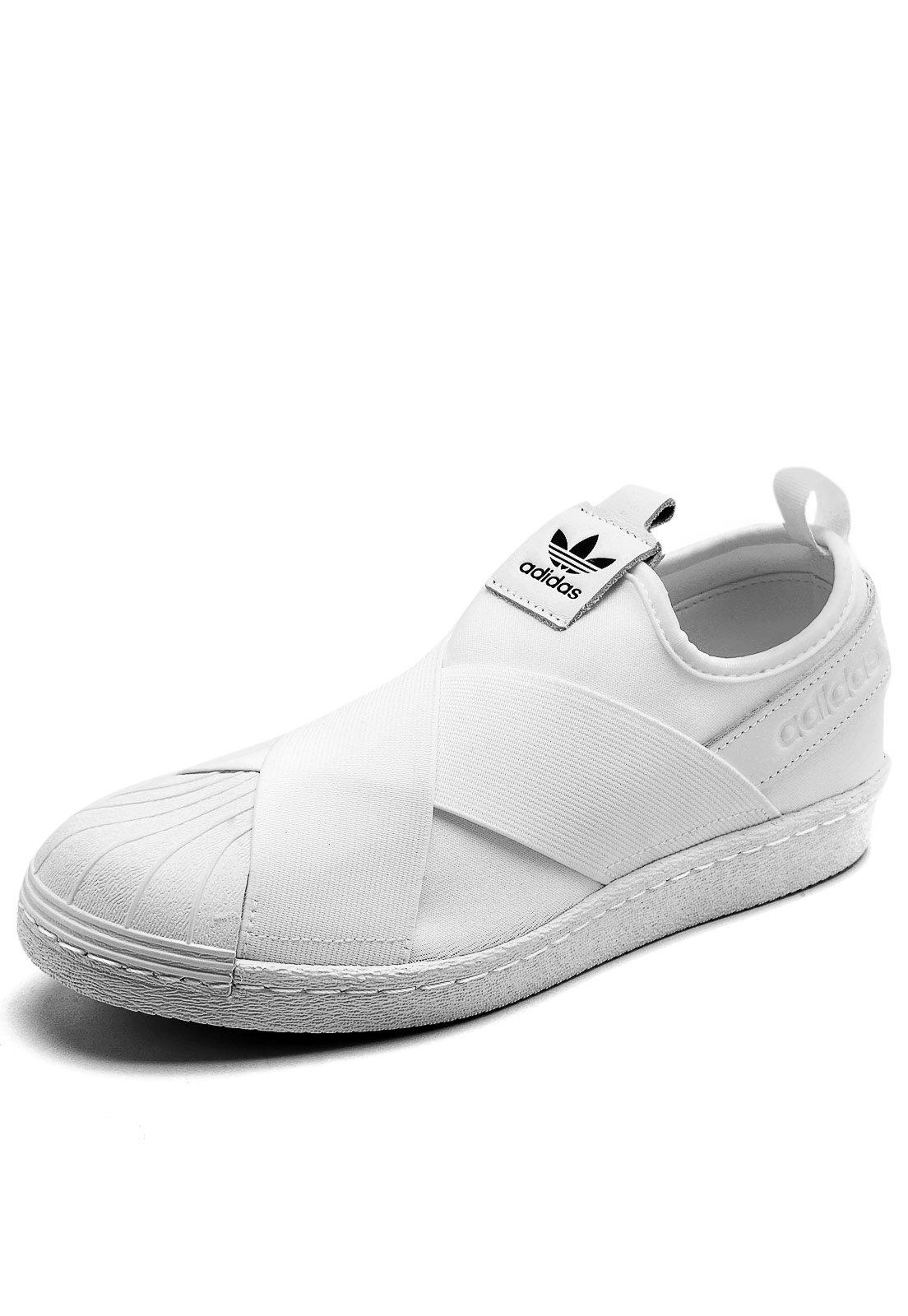 Tênis adidas Originals Superstar Slip on W Branco