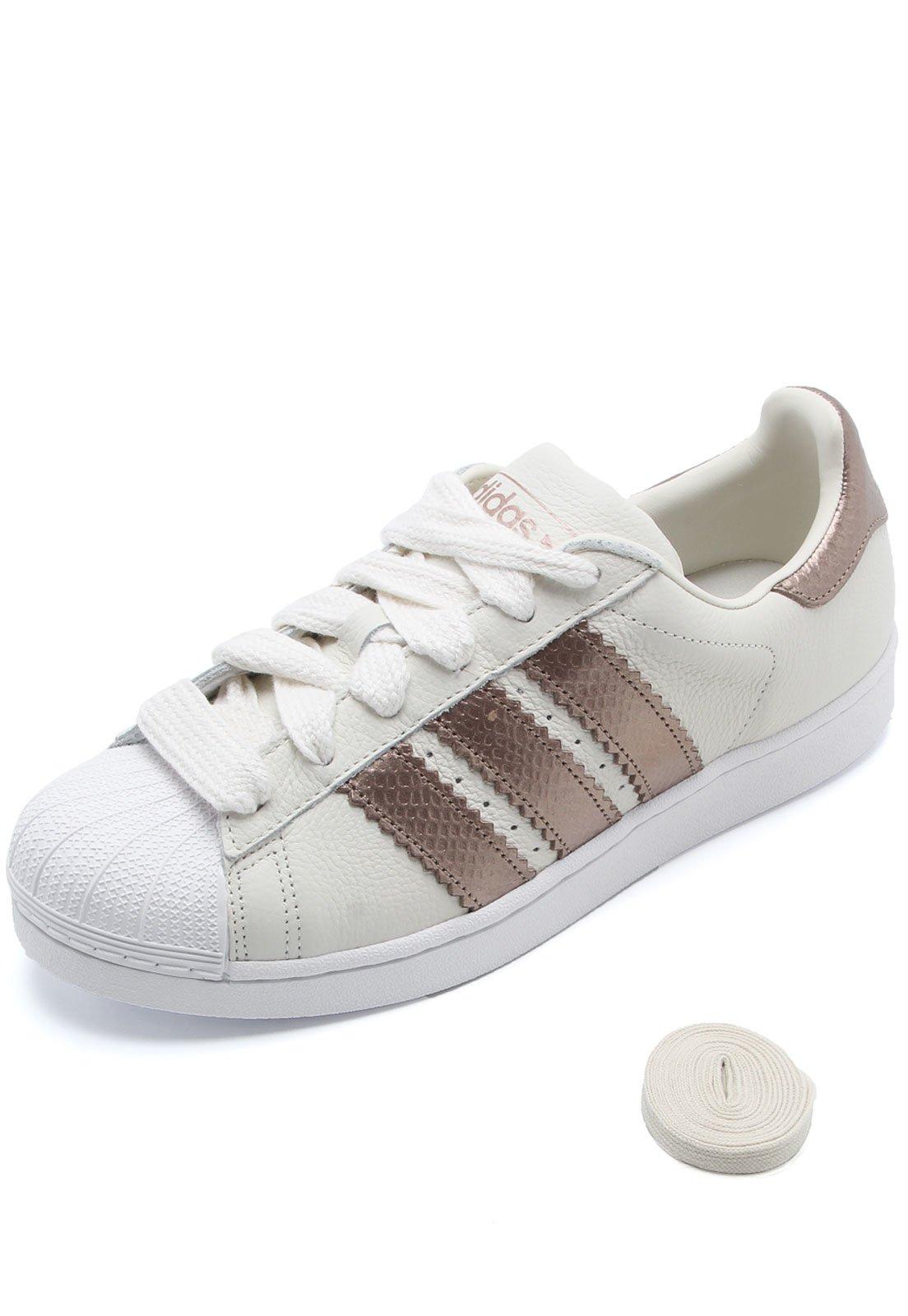 Tênis adidas Originals Superstar W Off White