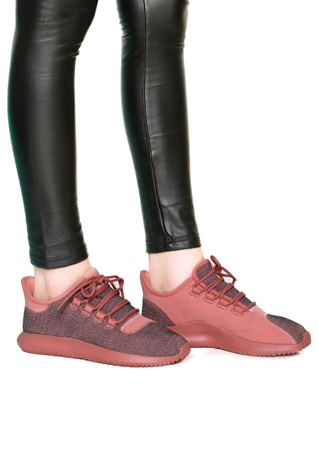 Moda moda mejor valorada original de costura caliente Tênis adidas Originals Tubular Shadow Rosa - Compre Agora | Dafiti ...