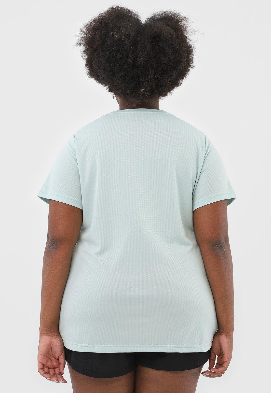 Camiseta adidas Performance W D2m Inc T Verde - Compre Agora