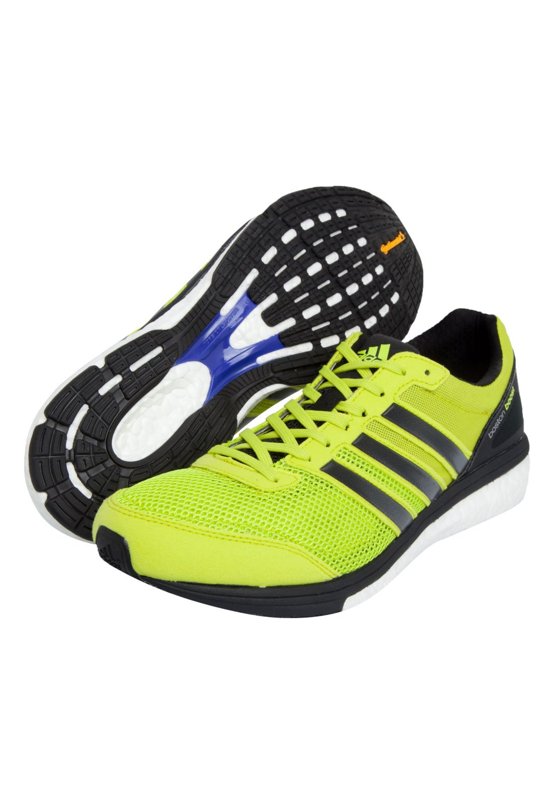 Obediencia Inspector distorsión  Tênis adidas Performance Adizero Boston Boost 5 M Verde - Compre Agora |  Dafiti Brasil