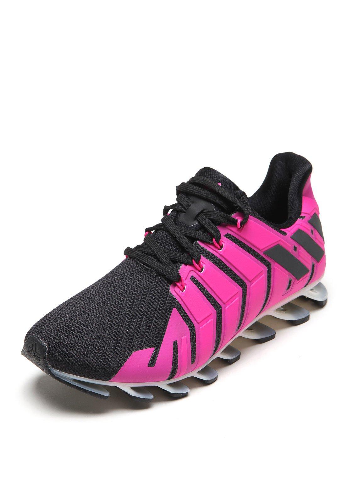 adidas springblade rosa e cinza